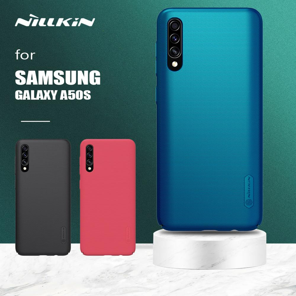 Nillkin for <font><b>Samsung</b></font> Galaxy <font><b>A50S</b></font> A30S Case Super Frosted Shield Ultra-Thin Protective Hard <font><b>Back</b></font> <font><b>Cover</b></font> for <font><b>Samsung</b></font> <font><b>A50S</b></font> A30S Case image