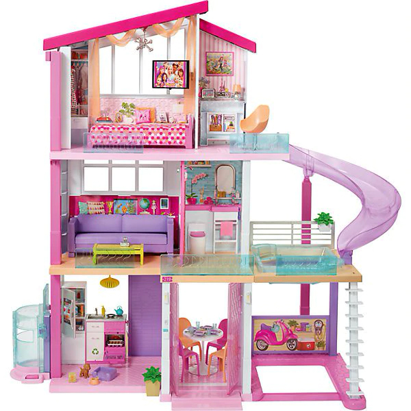"House For Dolls Barbie ""New Dream Home"""