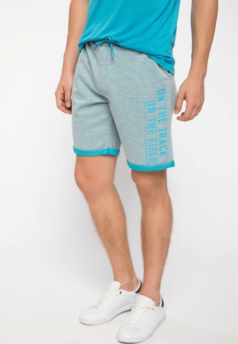 DeFacto Summer Man Cotton Bottoms Fashion Male Letter Pattern Side Men's Casual Loose Sweatpants New - I8621AZ18HS