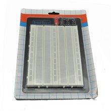 Беспаечная электрическая вилка-в макетной плате, 1660 точек связи, 4 силовых рельса,(165x55x9 мм