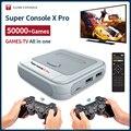 Супер консоль X Pro ретро мини видео игровая консоль/ТВ двойная система для PSP/N64/DC/PS1 Игры для Xbox геймпад встроенные 50000 + игр