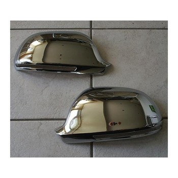 Chrome rearview for Audi A6 08-10