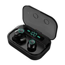 M7 TWS Bluetooth Headset 5.0 True Wireless Dual In-Ear with LED Digital Display ScreenHands-free for Sports Waterproof  earphone