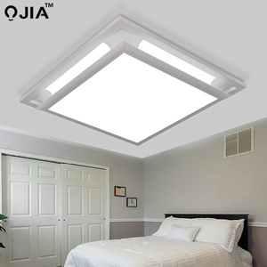 Image 3 - Led ceiling lights square white dimmer or switch for sitting room retange led commercial ceiling light fixtures luminaria teto