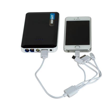 CMB2 Starter miniBatt BOLSO carregador de bateria e multi função - 5