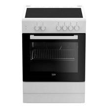 Комбинированная духовка и Стеклокерамическая варочная панель BEKO FSS67000GW 71 L 60 см белый(4 варочные зоны
