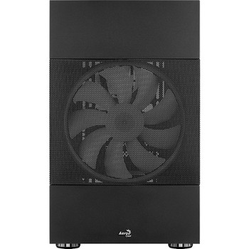 Aerocool Atomic 2388ARGB Addressable RGB Fan, Upright Display Card Can Be Inserted, Tempered Glass Side Panels, Computer case 2