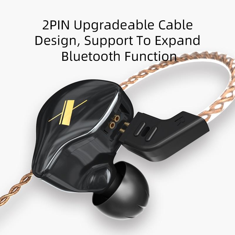 EDX 1DD HIFI In Ear Earphone Monitor Headphones In Ear Earbuds Sport Noise Reduction Headset 4