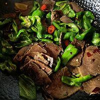 美食记之十五:尖椒炒水牛肉的做法图解6