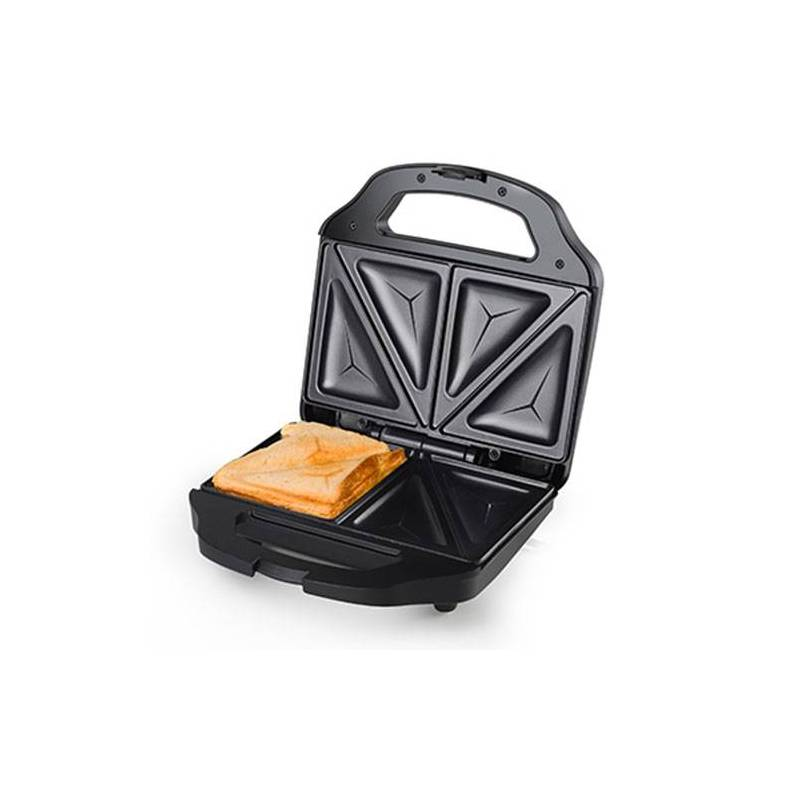Сэндвичница Tristar SA3056 700 Вт черная сталь