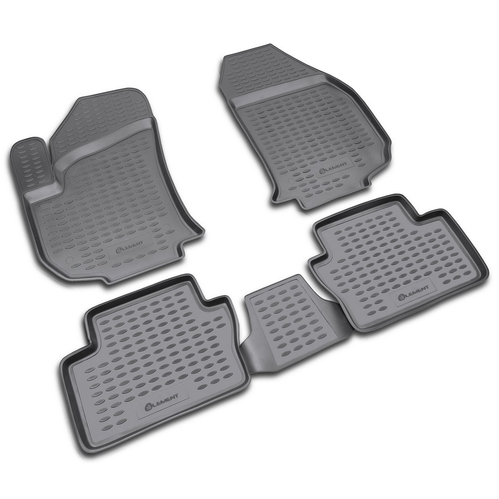 Floor Mats For OPEL Zafira 2005-> 4 PCs NLC.37.09.210k