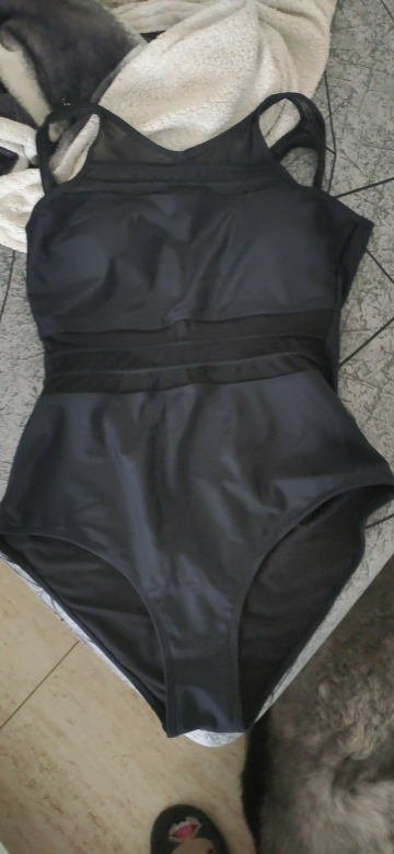 Riseado Black Mesh One Piece Swimsuit Women Swimwear New 2021 Sexy High Neck Bathing Suits Women Backless Bodysuit Plus Size XXL Body Suits    - AliExpress