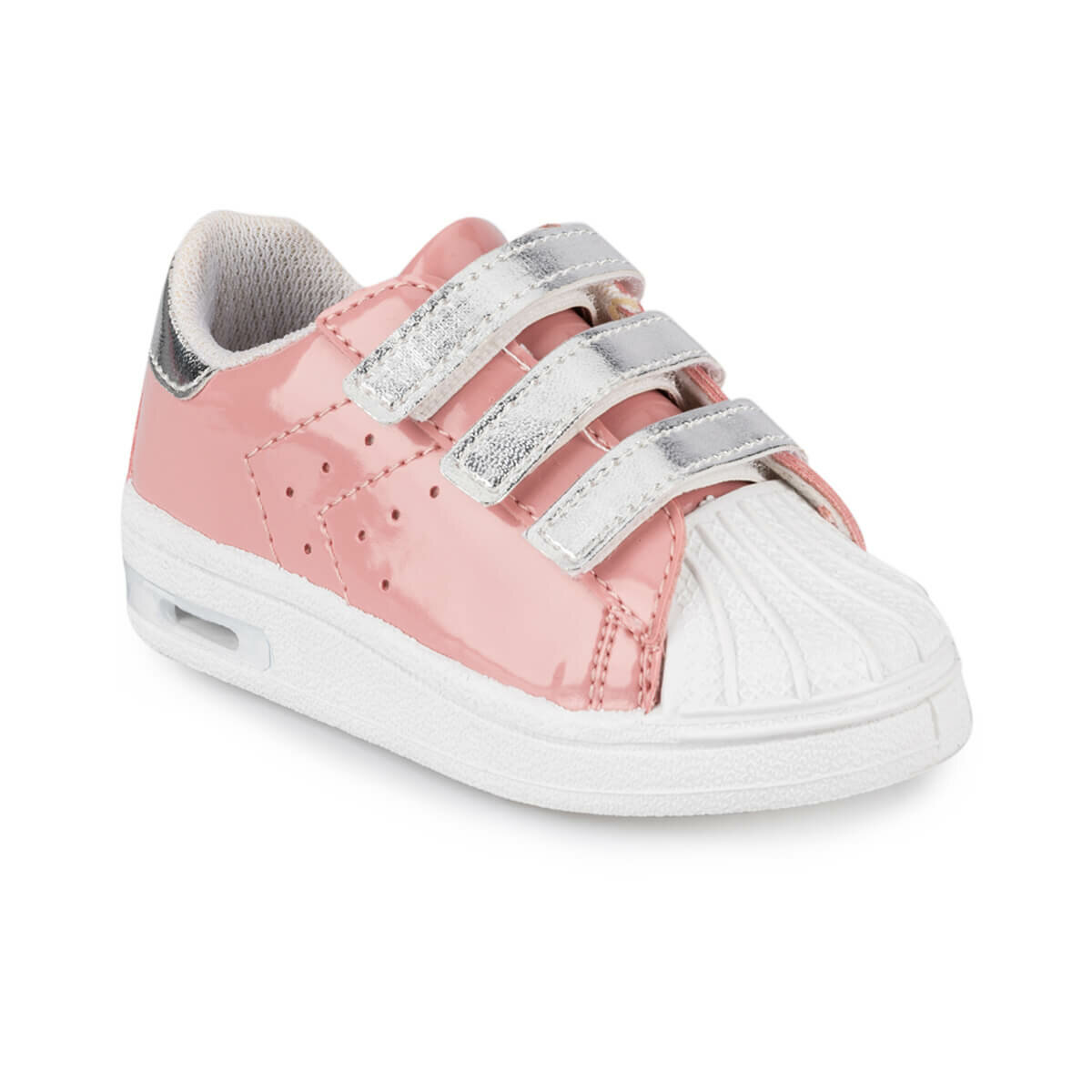 FLO MONTY S 9PR Pink Female Child Sneaker Shoes KINETIX