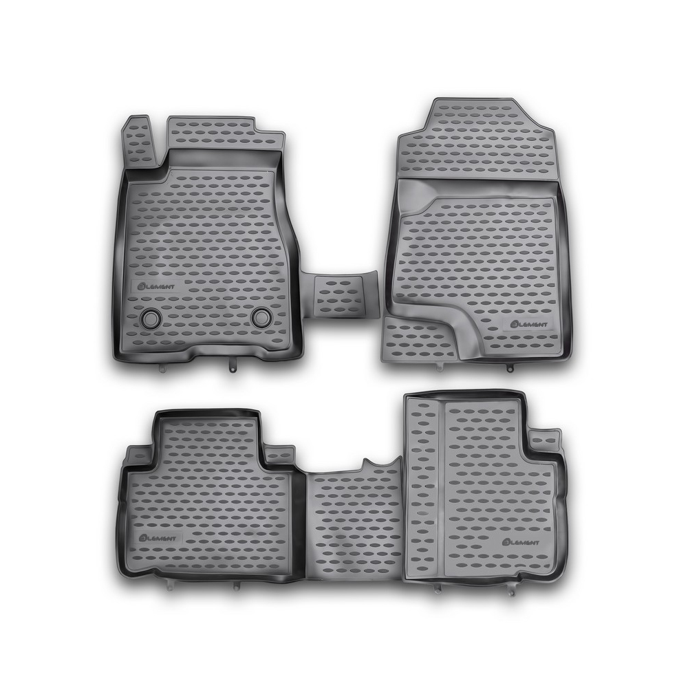 3D Mats In The Salon For GREAT WALL Hover H6, 2012-4 PCs NLC.3D. 59.12.210kh
