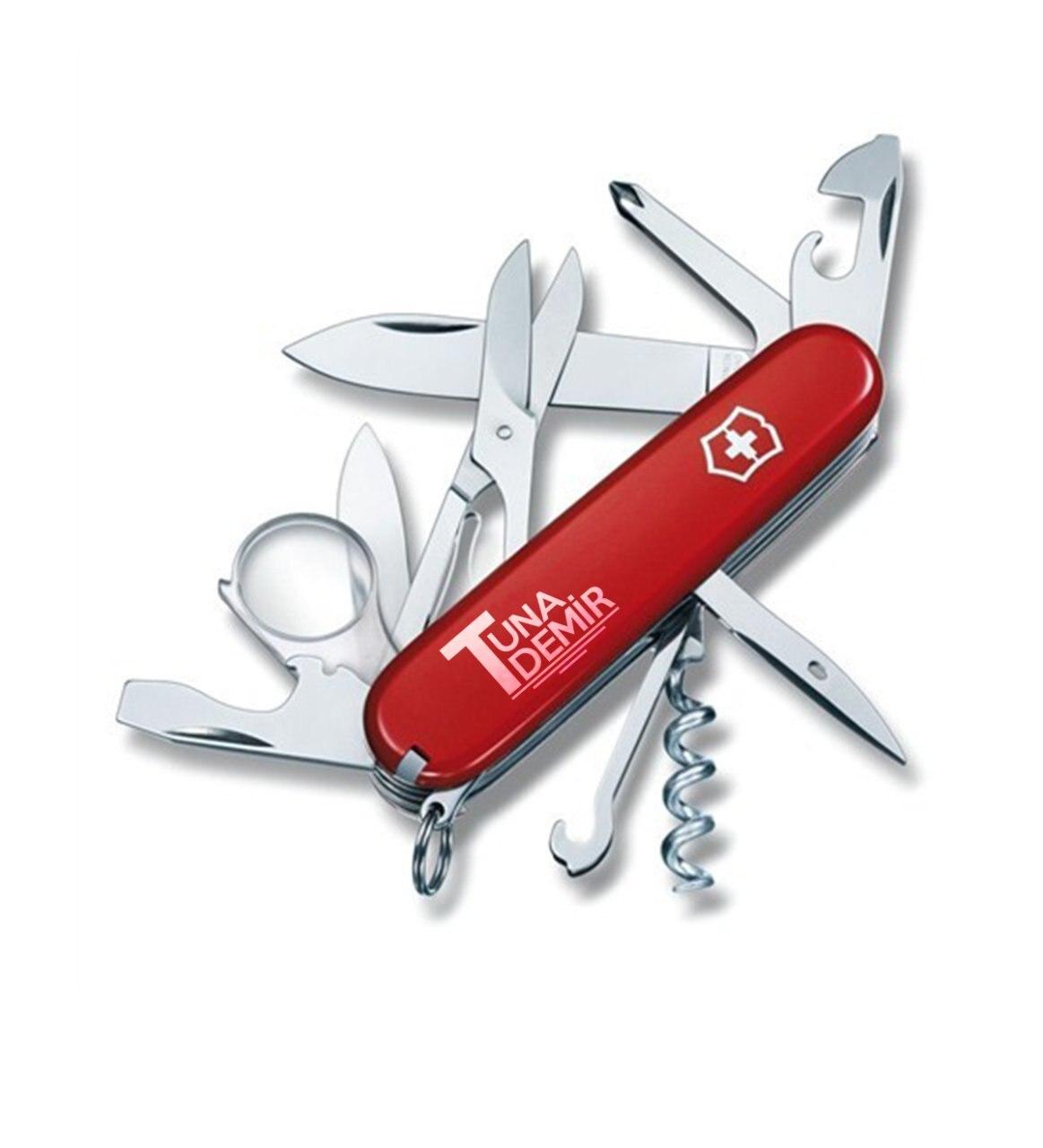 Personalized Victorinox Explorer Pocketknife