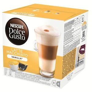 Latte Macchiato vanilla, Dolce Gusto, 8 + 8 PCs