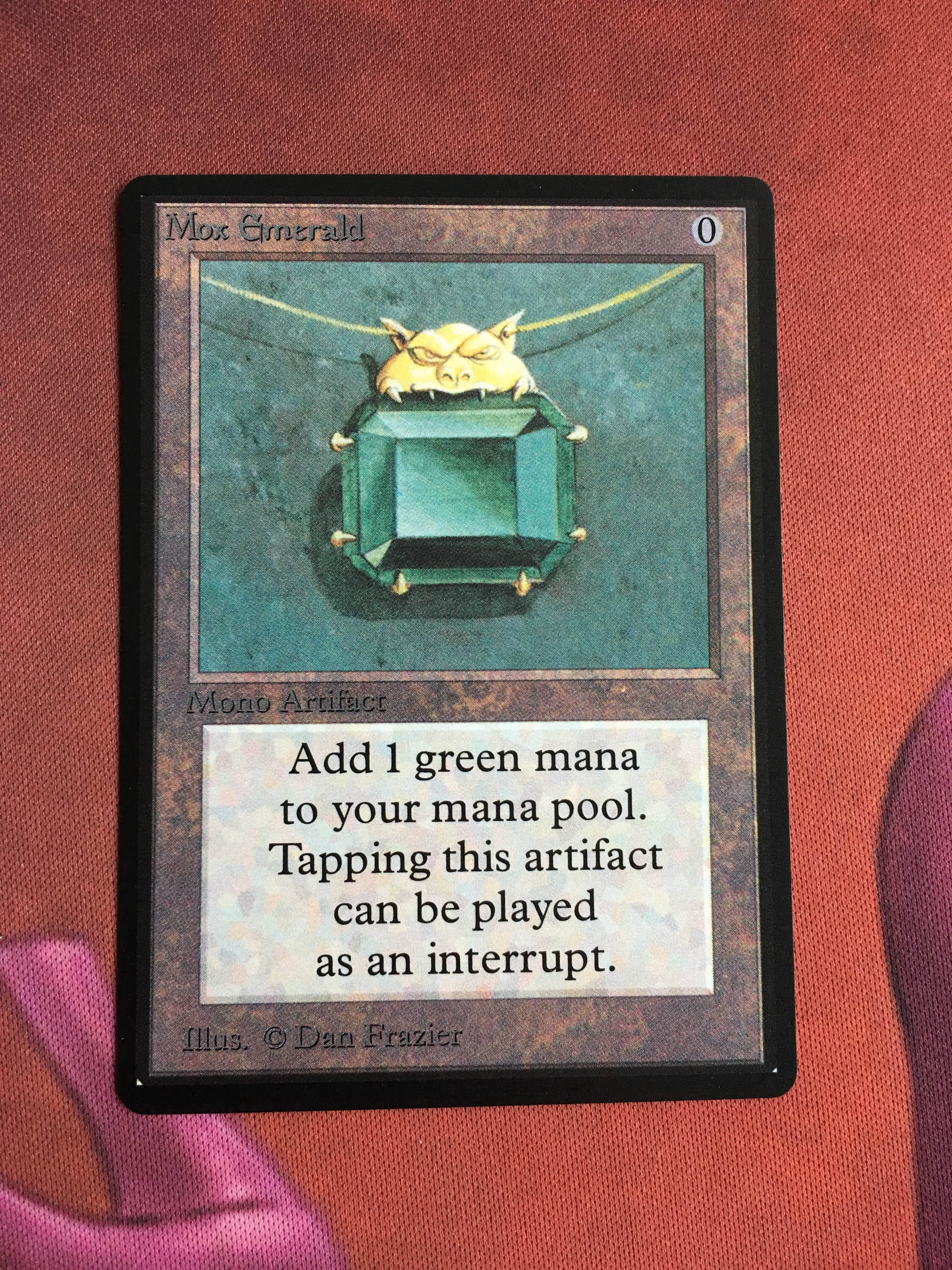 Mox Emerald Beta Magician ProxyKing 8.0 VIP The Proxy Cards To Gathering Every Single Mg Card.