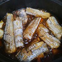 #太太乐鲜鸡汁芝麻香油#不用油煎的砂锅香焖带鱼的做法图解8