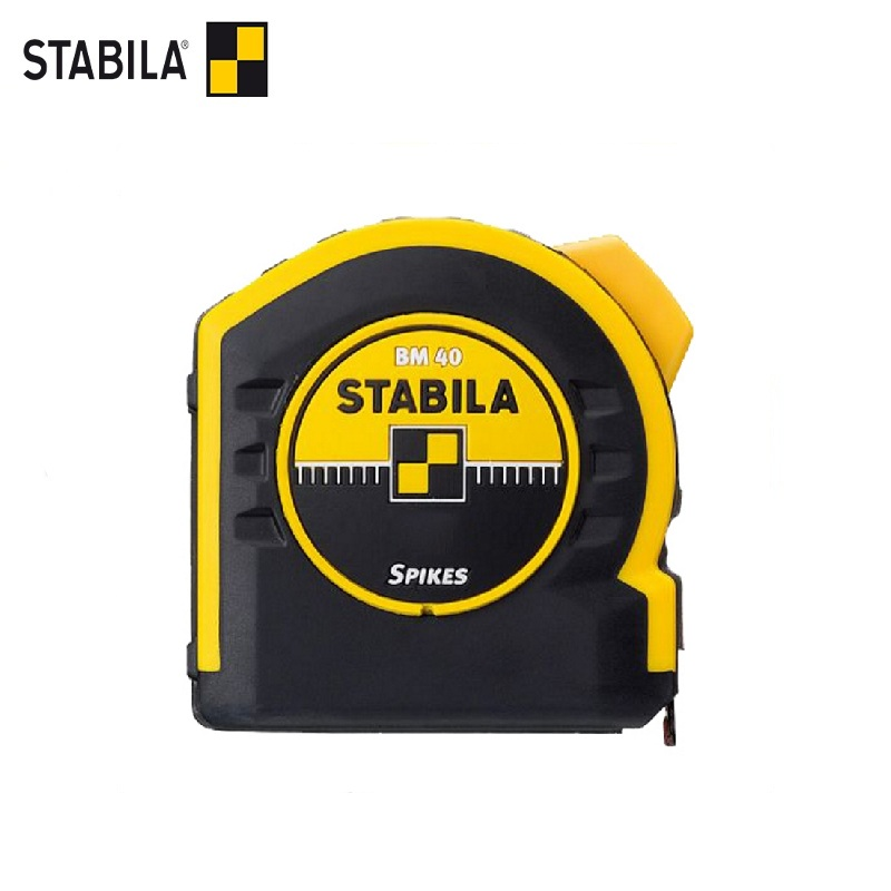 STABILA Roulette BM40 5 m x 19mm Magnetic hook Portable Retractable Ruler measuring tools tape measure pro skit dk 2040 3m tpr durable blade measuring tape w magnetic end hood black