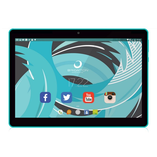 "Tablet BRIGMTON BTPC-1019QC 10"" 16 GB Wifi Quad Core Blue"