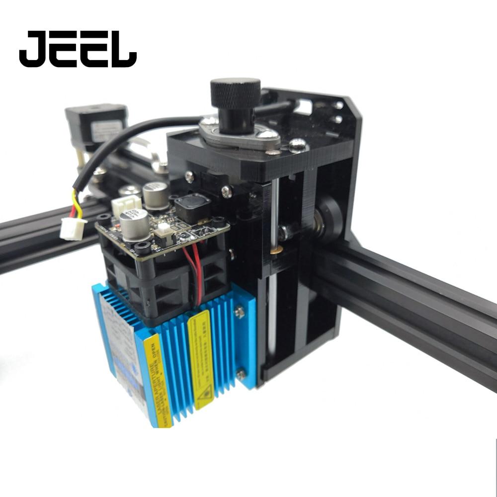 DIY CNC 15000MW Print Laser Engraver High Speed CNC Router/ Cutter /Printer Mini L aser Engraving Machine No Assembly