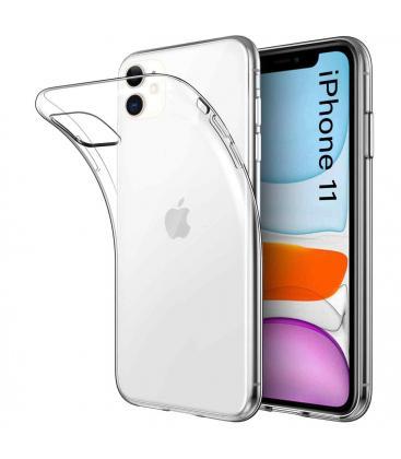 Funda De Gel TPU Carcasa Silicona Para Movil Apple Iphone 11 Transparente