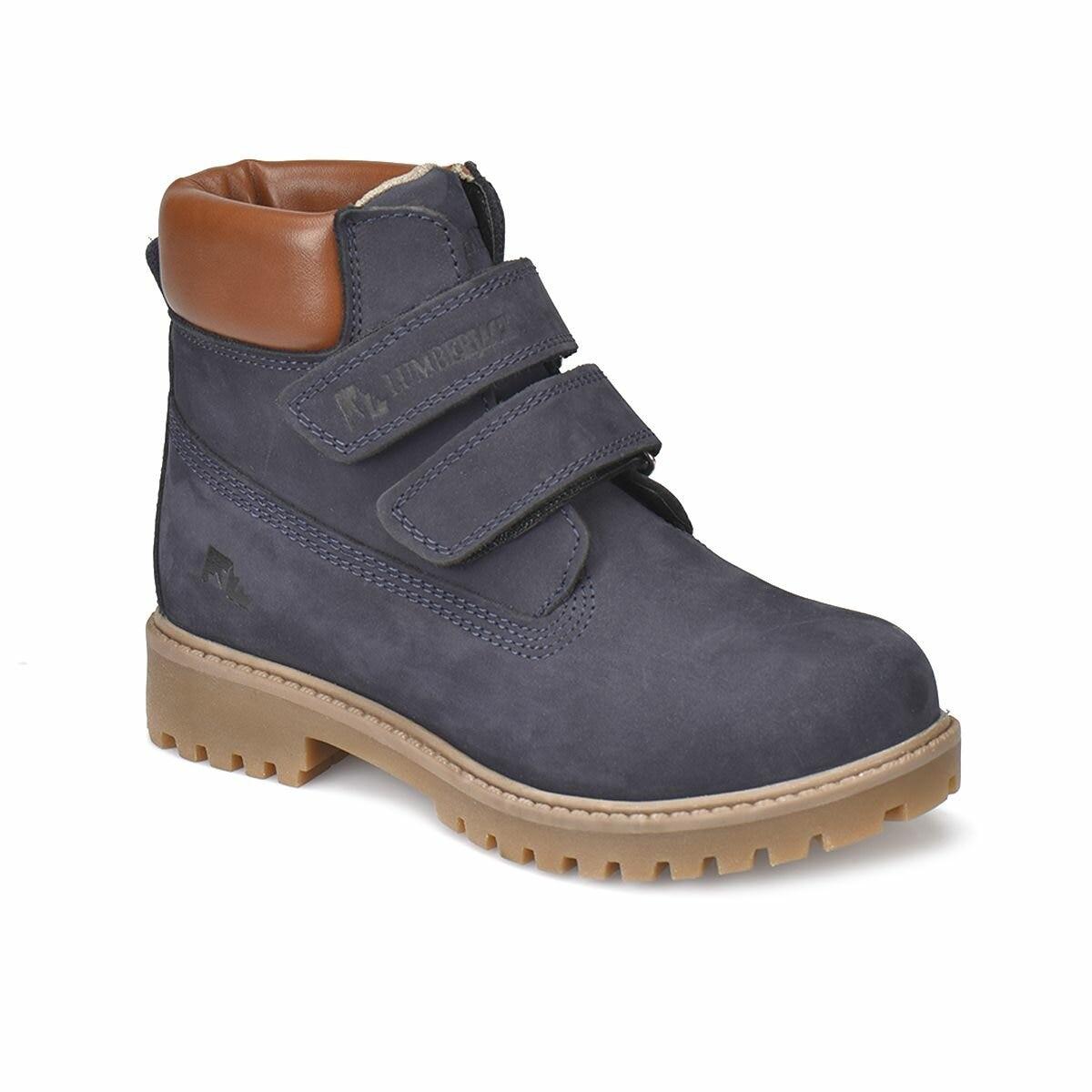 FLO RIVER Navy Blue Unisex Child Boots LUMBERJACK