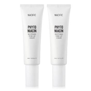 Nacific Official [Korea NO.1 Facial Cream] - Phyto Niacin Whitenning Cream [1+1] (Skin care, Face care, Korea cosmetic)