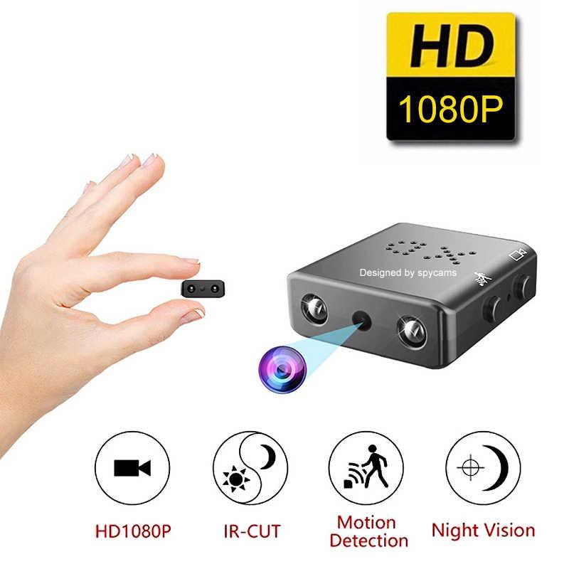 XD IR-CUT Mini cámara 1080P HD, videocámara con visión nocturna infrarroja, Micro Cámara deportiva DV DVR, cámara de seguridad con detección de movimiento pk sq11