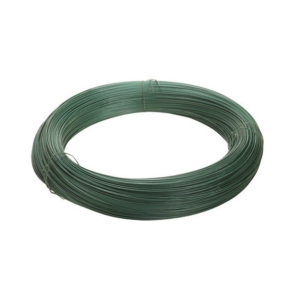 Plastic Coated Wire Green Roll 25Kg./N ° 17