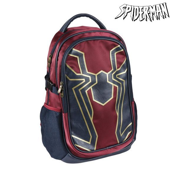 School Bag Spiderman Maroon