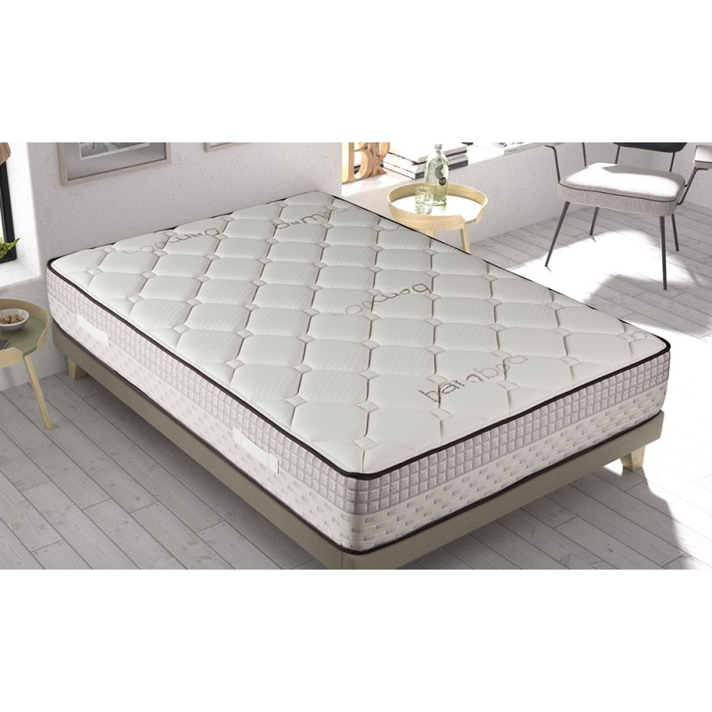 Matris-Mattress Viscoelastic Bamboo Cloud Effect Visco Mattress 24 Cm +/-all The Measures