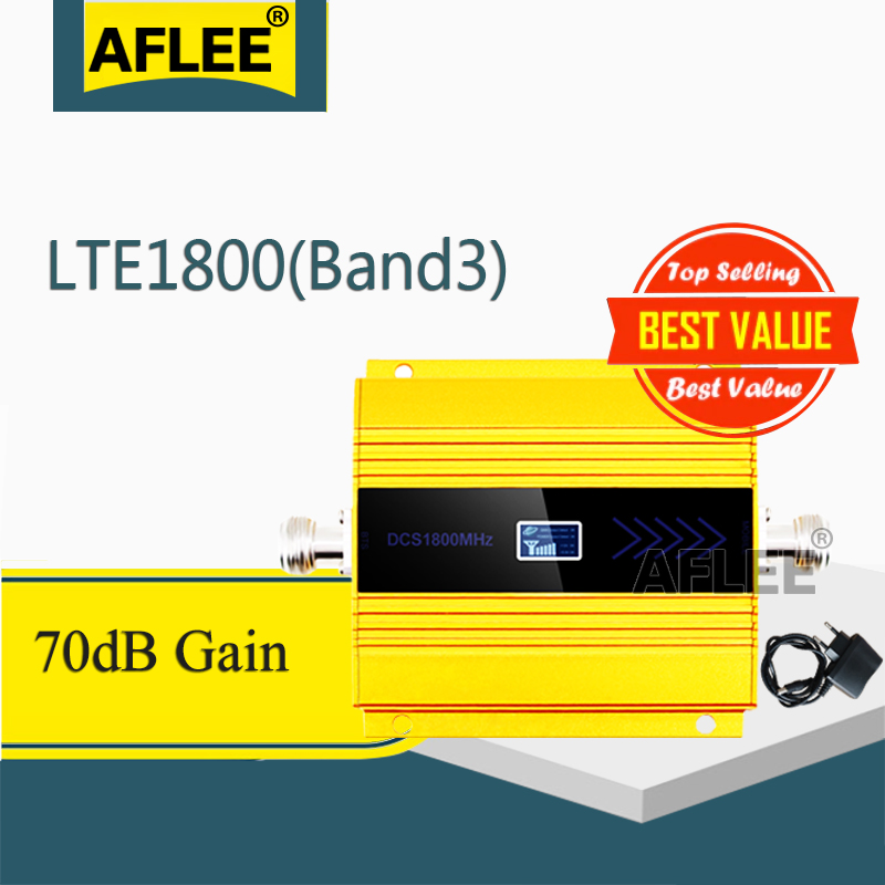 1PCS 1800Mhz LTE GSM 4G Cellular Amplifier  DCS LTE 1800 4G NetWork Mobile Signal Booster Repeater Gsm 2g 3g 4g Booseter