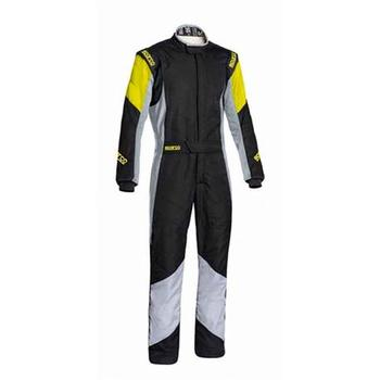 S001127558NRGR-Dungarees R551 Grip Rs-4.1 Size 58 Black/Gray Sparco