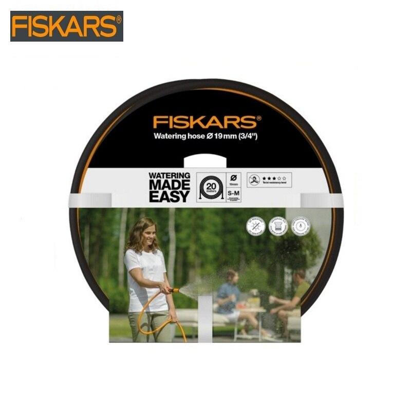Hose Ø 19 mm (3/4 ) 20 m Q3 + SPRAY AS A GIFT Firskas (1023653)  garden hose magic flexible water hose plastic hose pipes hose gardena feeder 4 6 mm 3 16 inch home