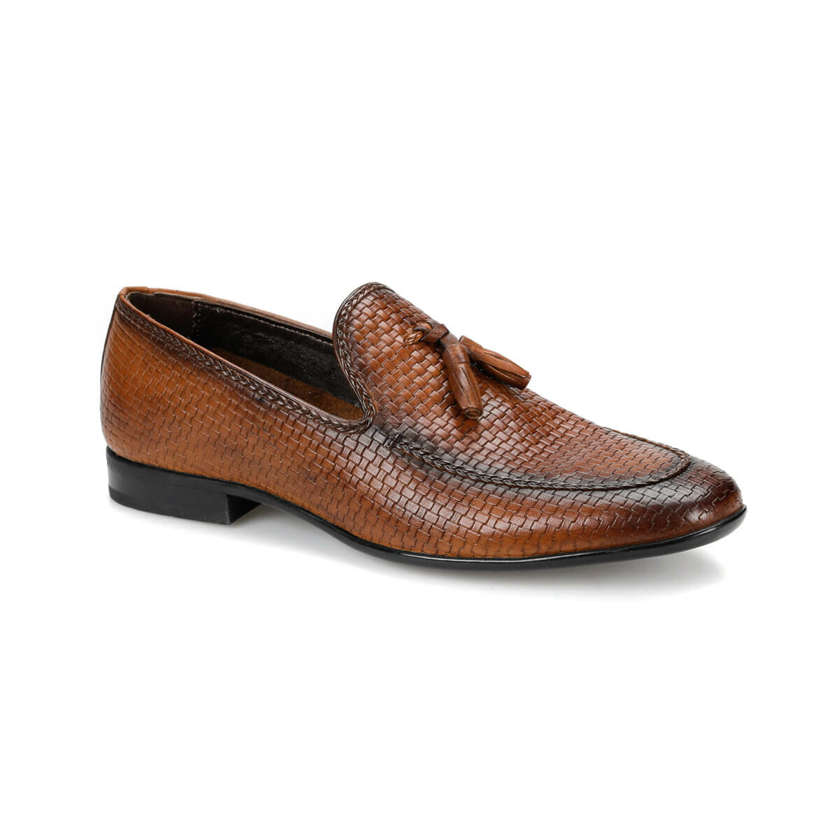 FLO MOZA Tan Men 'S Classic Shoes MERCEDES