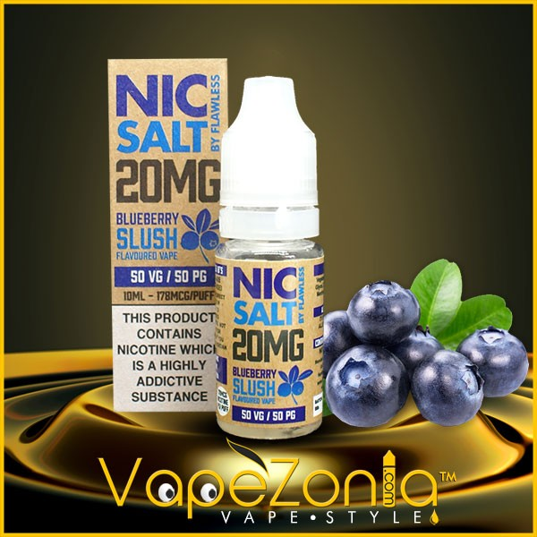 Nic Salt Flawless BLUEBERRY SLUSH 10 Ml