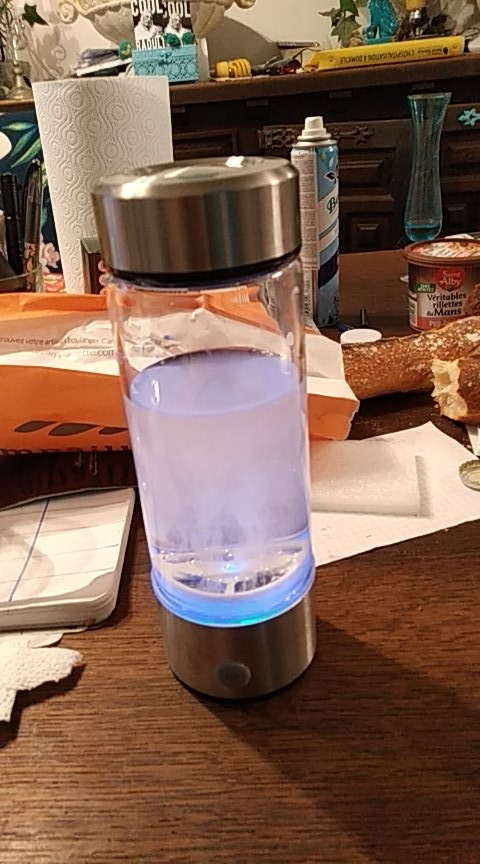 3 Minutes Hydrogen Water Bottle 420ml photo review