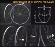 XC Ultralight-Rim 29 Wheels MTB Mountain-Bike Thru-Axle 29er Bicycle MTB Wheelset 1530g And 28H Holes DT 350S Hubs elite dt swiss 240 series mtb wheelset 40mm width 32mm depth carbon fiber rim for 29er am dh enduro mountain bike wheel
