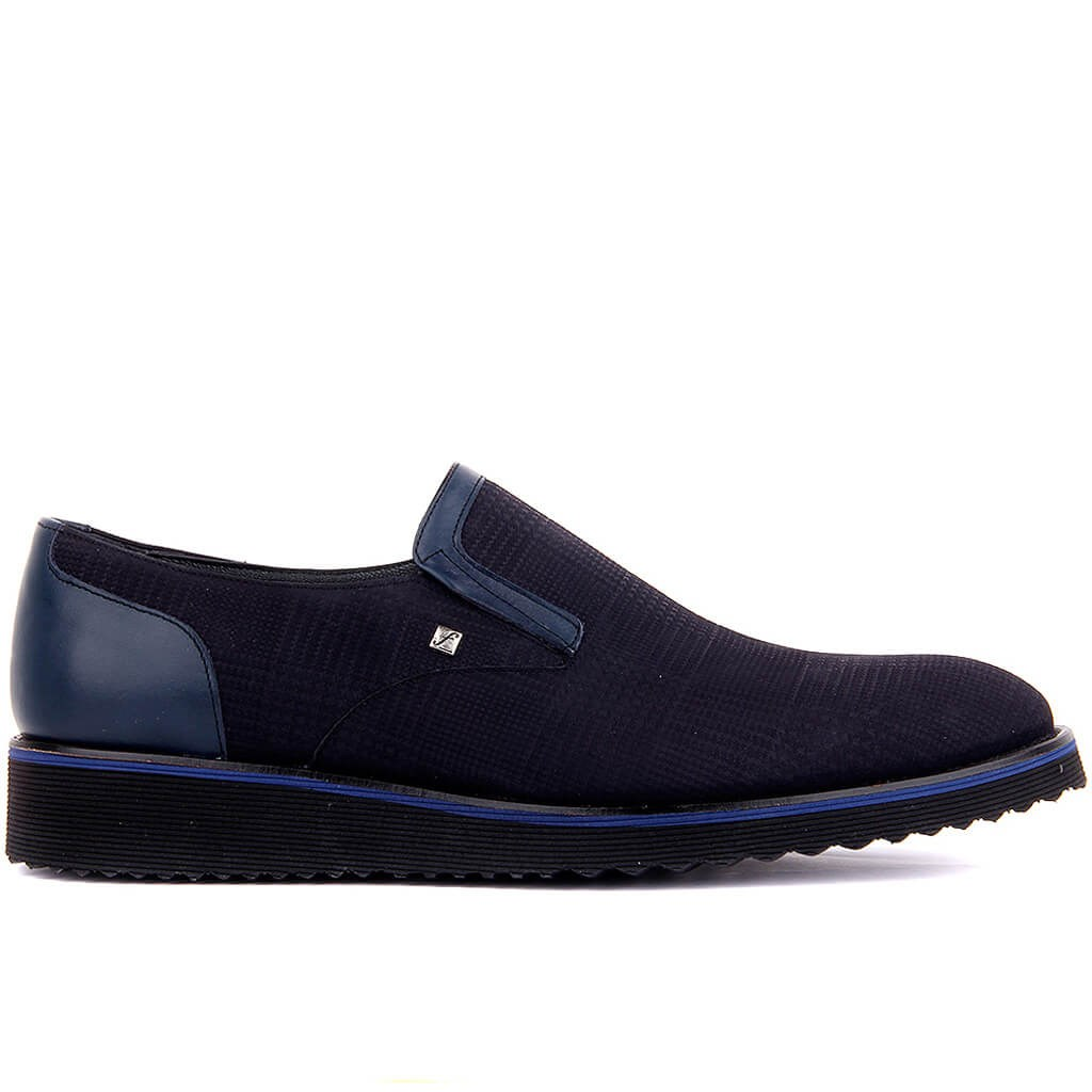 Fosco-Lacivdert Leather Man Casual Shoes