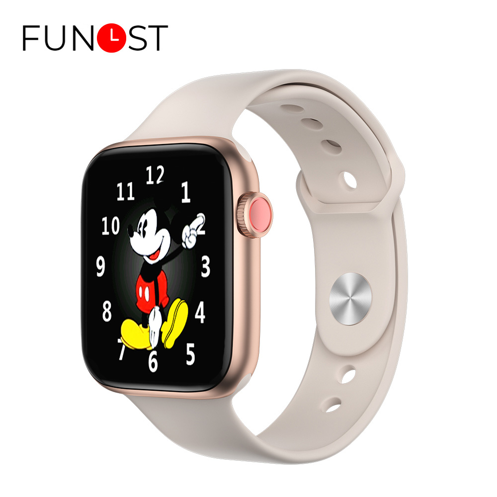 FUNOST T5 Pro Smartwatch Thermometer Square Smart Watch Men Bluetooth Alarm Clock Body Temperature Measure Watches Fitness Women