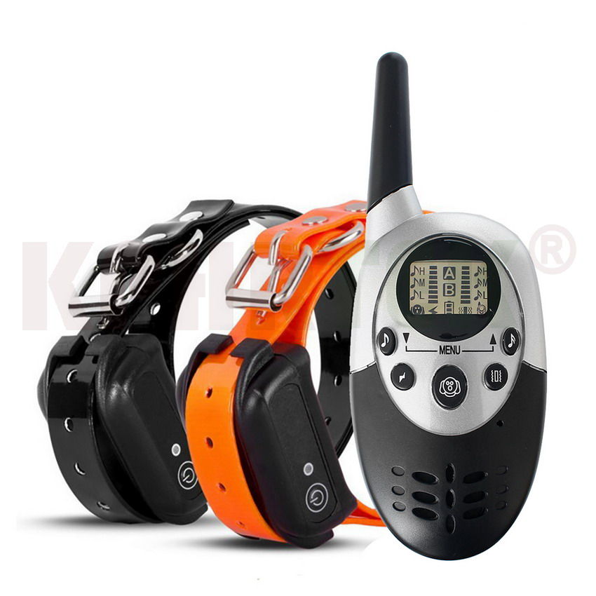 1000M Remote Waterproof Rechargeable Dog Training Shock Collar w/Auto Anti bark100G2280 image