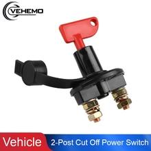 2 шт. ключи от автомобильного аккумулятора выключатель съемный ключ 2 Почтовый Транспорт выключатель батареи Power12V-24V 200А аксессуары для грузовиков