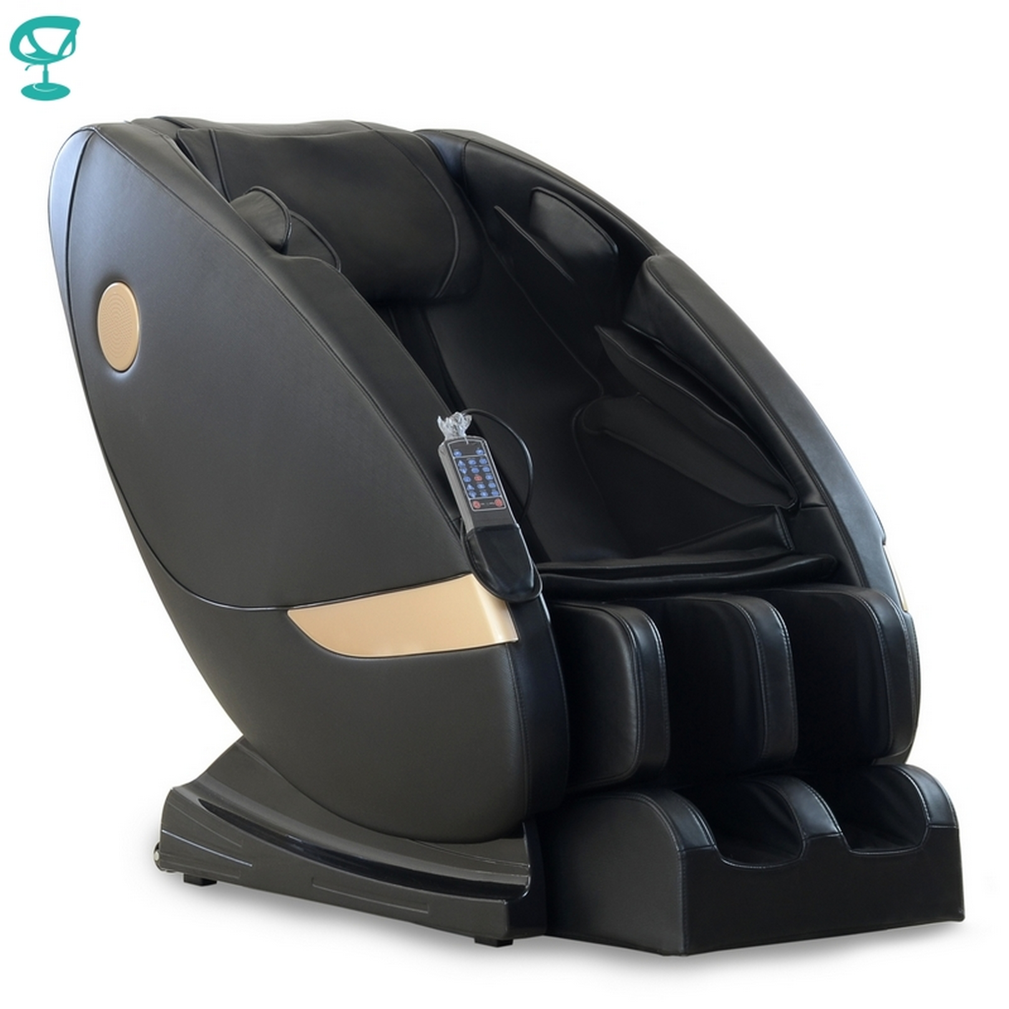 95685 Barneo MC-10 Chair Massage Black Full Functional Chair Massage Chair With Massage Free Shipping To Russia
