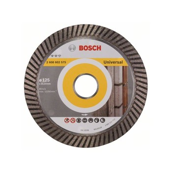 BOSCH-metal cutting Disc diamond Expert Universal Turbo 125x22,23x2,2