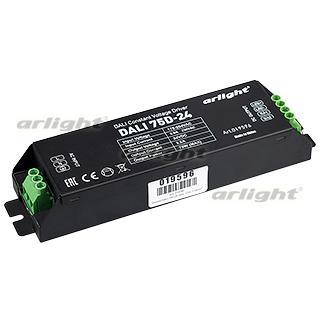 019596 Dimmer DALI 75D-24 (24V 75 W, 1 Address [IP20 Metal 2] Box-1 Pcs ARLIGHT-Блок Power Supply/AC/DC Dimmable ^ 24