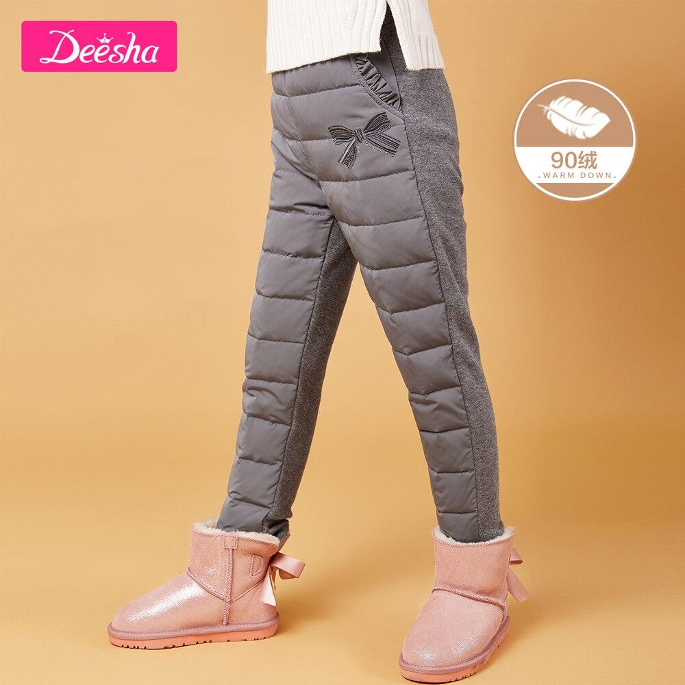 Pantalon enfants Long chaud hiver pantalon pour filles pantalon imperméable enfant en bas âge garçon pantalon coton épaissir bébé enfants pantalon