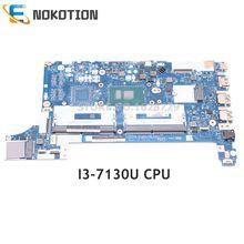 NOKOTION Für Lenovo ThinkPad E480 E580 laptop motherboard 01LW179 EE480 EE580 NM-B421 WICHTIGSTEN BORD SR3JY I3-7130U CPU DDR4
