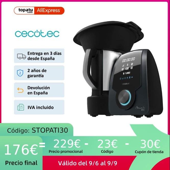 Cecotec Robot De Cocina Mambo para Hogar con 30 Funciones Pantalla Digital, 8590 9090 9590 10090, con báscula, App intuitiva|Multiollas| - AliExpress