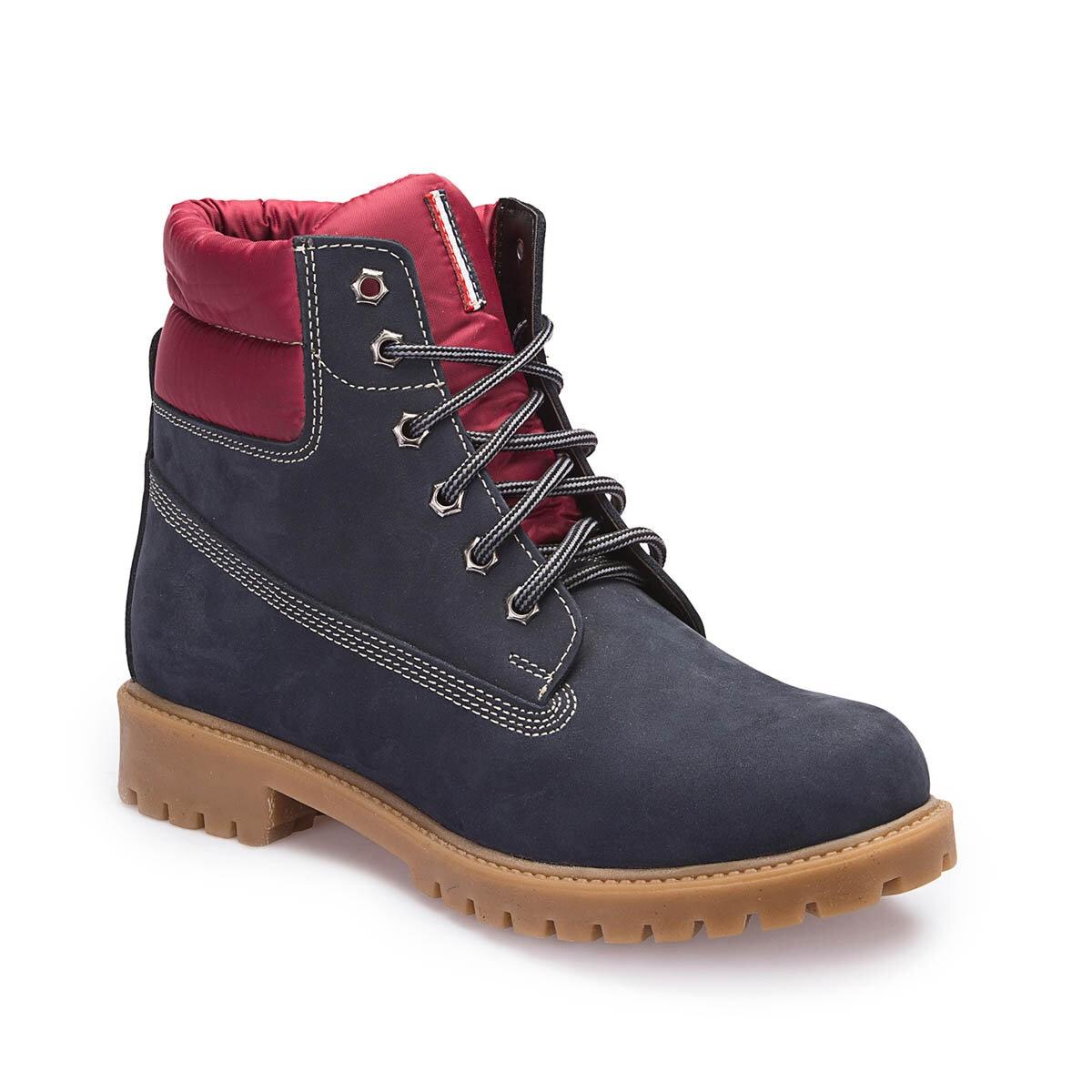 FLO A3376988 Navy Blue Men 'S Boots U.S. POLO ASSN.